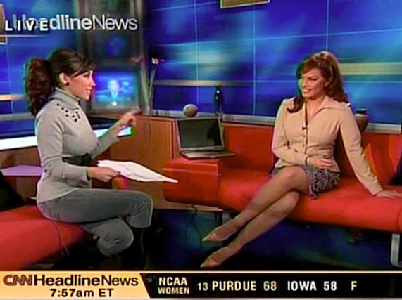 Sexy Robin Meade Showing Legs Clip CNN VIDEO HERE DOWNLOAD THE CLIP!